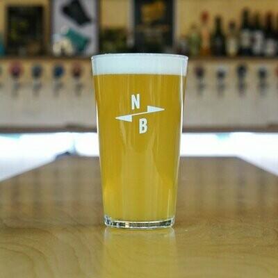 North Brew Pint Glass