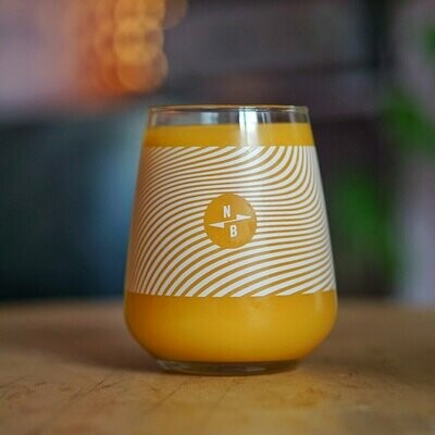 North Brew Triple Fruited Gose Glass