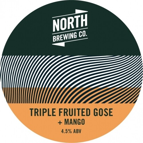 North Brew Triple Fruited Gose Mango (1.5 or 4 Pints)