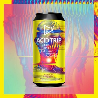 Funky Fluid Acid Trip Sabro, Pineapple & Coconut Sour TIPA