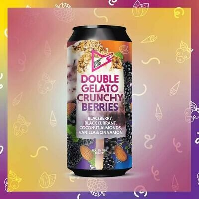Funky Fluid Double Gelato Crunchy Berries Fruited Sour