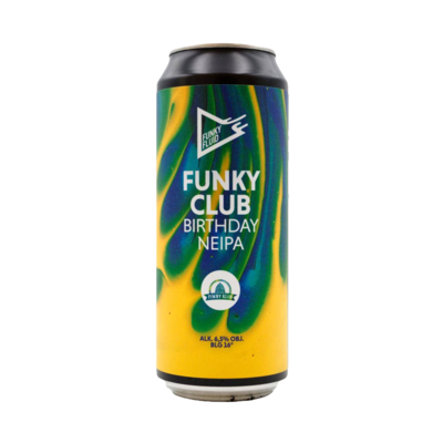 Funky Fluid Funky Club Birthday NE IPA