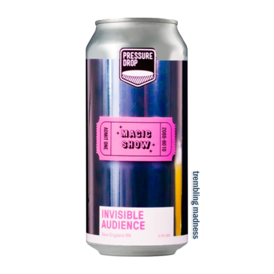 Pressure Drop Invisible Audience NE IPA