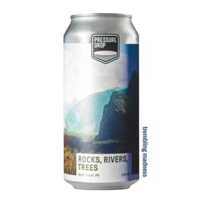 Pressure Drop Rocks, Rivers, Trees WC IPA