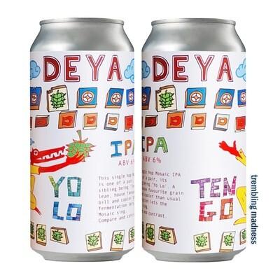 Deya Yolo + Tengo IPA's