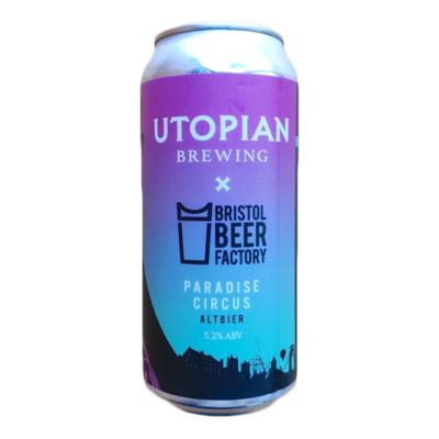 Utopian x Bristol Beer Factory Paradise Circus Altbier