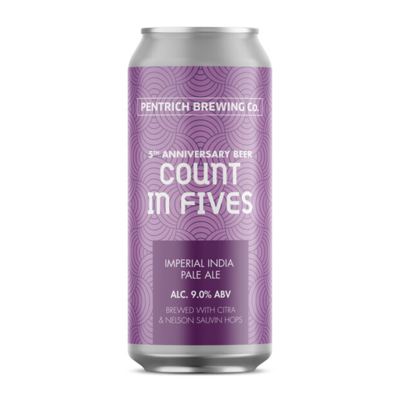 Pentrich Count In Fives Imperial IPA