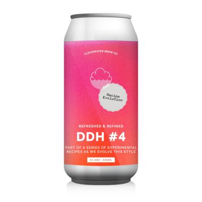 Cloudwater DDH Pale Ale Recipe Evolution #4