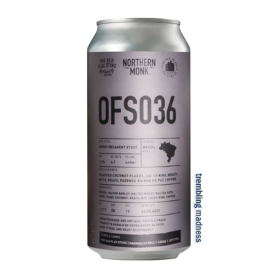 Northern Monk OFS036 Sweet Decadent Stout