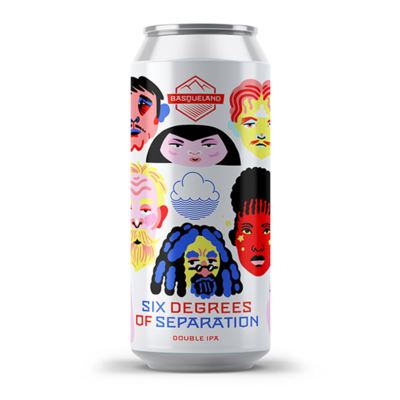 Basqueland x Cloudwater Six Degrees of Separation DIPA