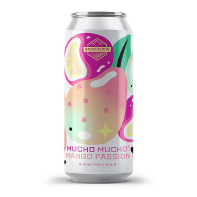 Basqueland Mucho Mucho Mango Passion Fruited Sour