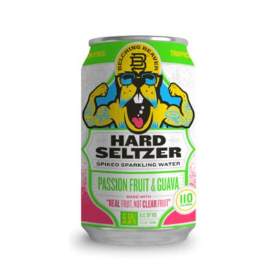 Belching Beaver Passion Fruit & Guava Hard Seltzer