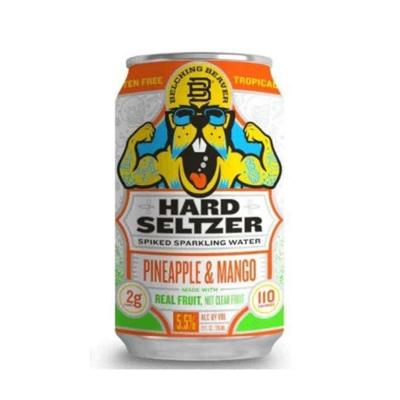 Belching Beaver Pineapple & Mango Hard Seltzer