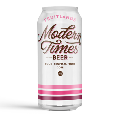 Modern Times Fruitlands Tropical Fruit Gose