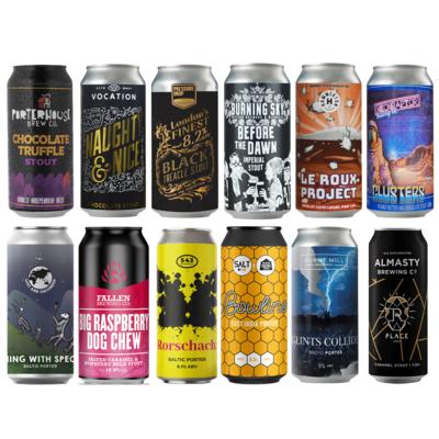 Madness Dark Craft Beer 12 Pack
