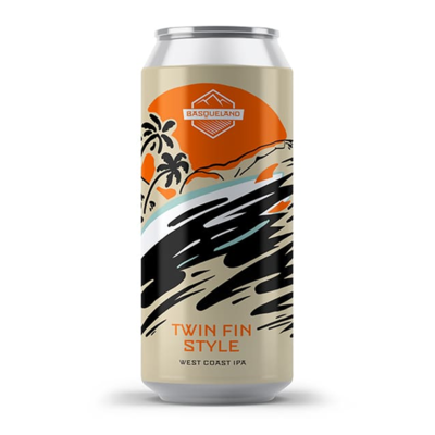 Basqueland Twin Fin Style WC IPA