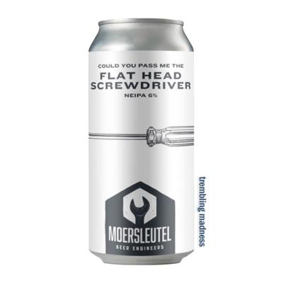 De Moersleutel Flat Head Screwdriver NE IPA