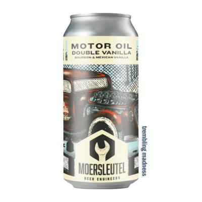 De Moersleutel Motor Oil Double Vanilla Imperial Stout