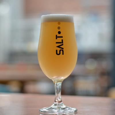 Salt Beer Stemmed Glass