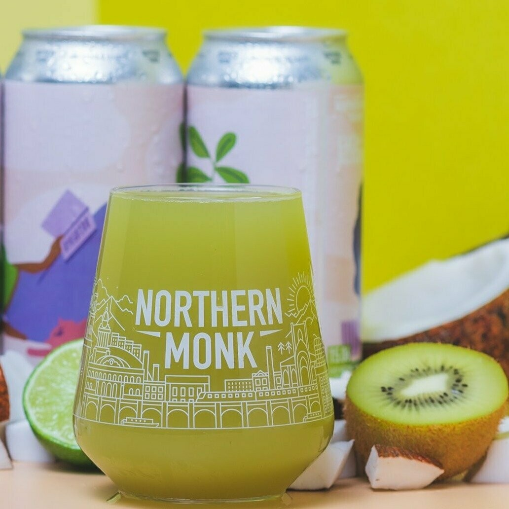 Northern Monk Go Easy Coconut & Kiwi Sour IPA (1.5 or 4 Pints)