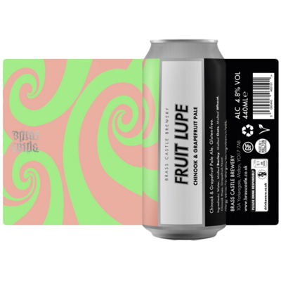 Brass Castle Fruit Lupe Chinook & Grapefruit Pale Ale