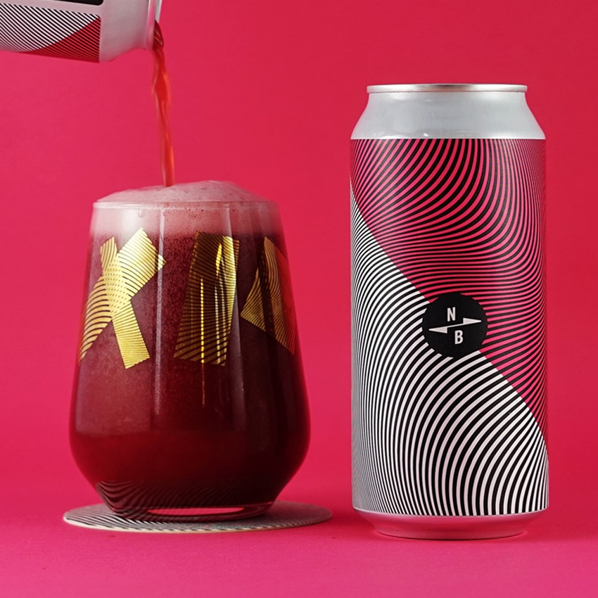 North Brew Tayberry Triple Fruited Gose