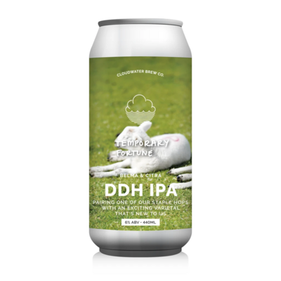 Cloudwater Temporary Fortune DDH IPA