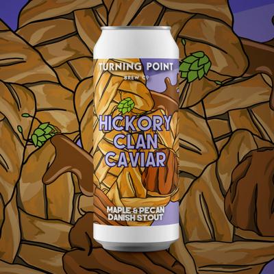 Turning Point Hickory Clan Caviar Danish Stout