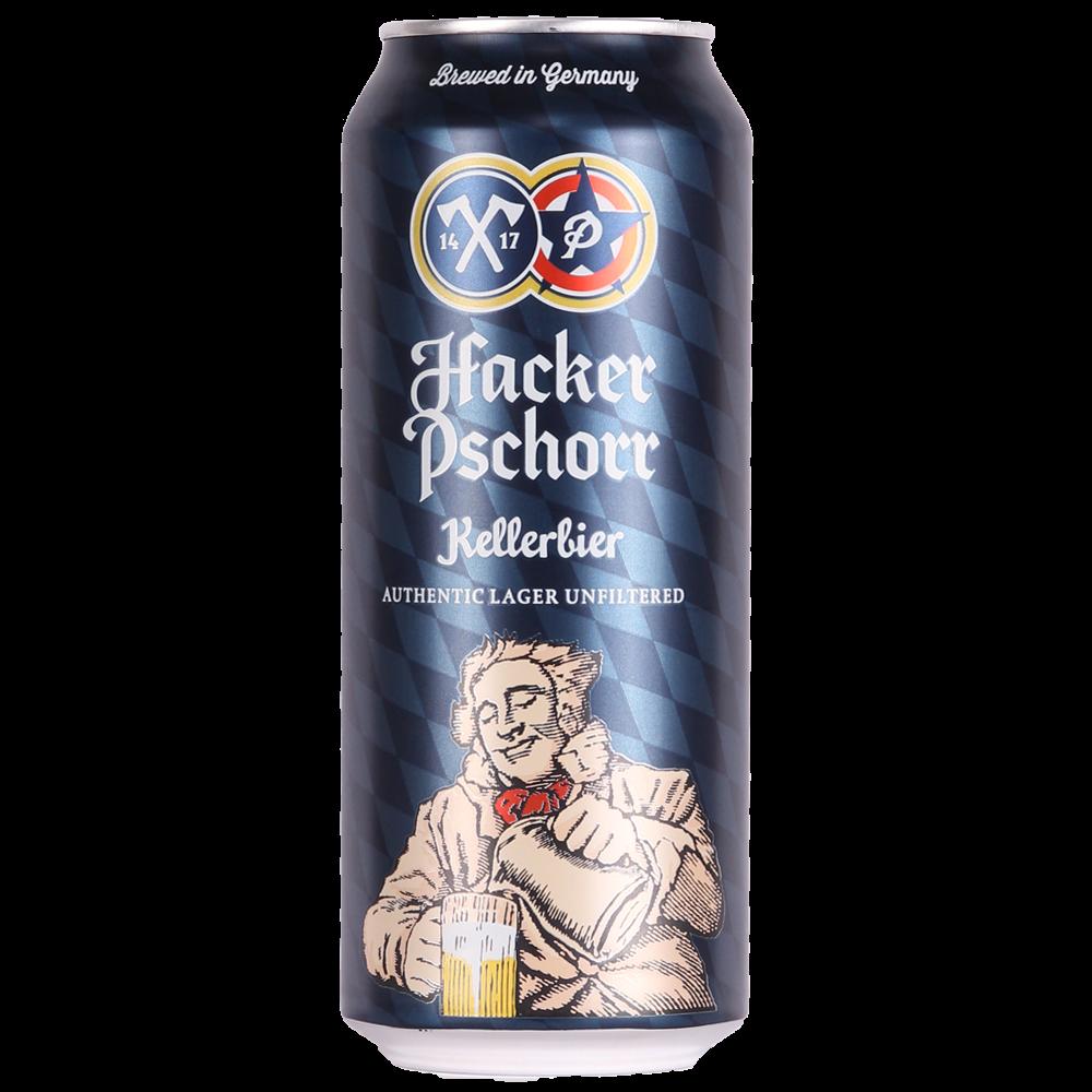 Hacker Pschorr Kellerbier Can