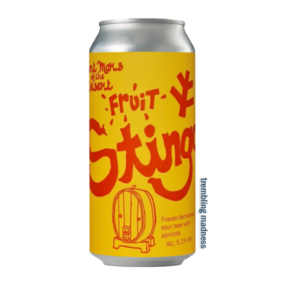 Saint Mars of the Desert Apricot Fruit Stingo Sour
