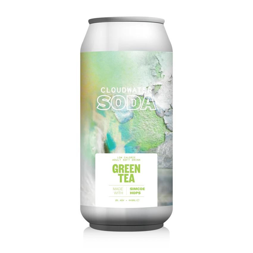 Cloudwater Soda Zero Alcohol Green Tea