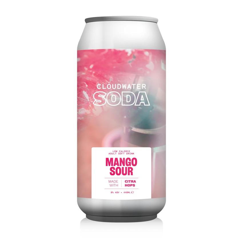 Cloudwater Soda Zero Alcohol Mango Sour