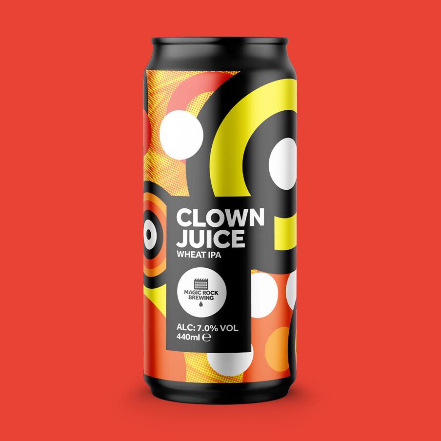 Magic Rock Clown Juice Wheat IPA