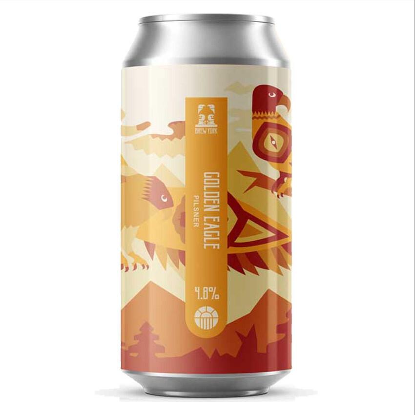 Brew York Golden Eagle Pilsner