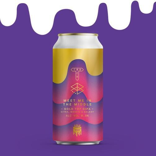 Track Meet Me In the Middle Gold Top DIPA