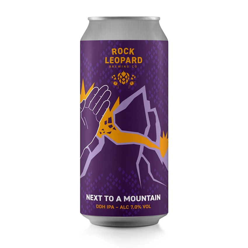 Rock Leopard Next To A Mountain DDH IPA