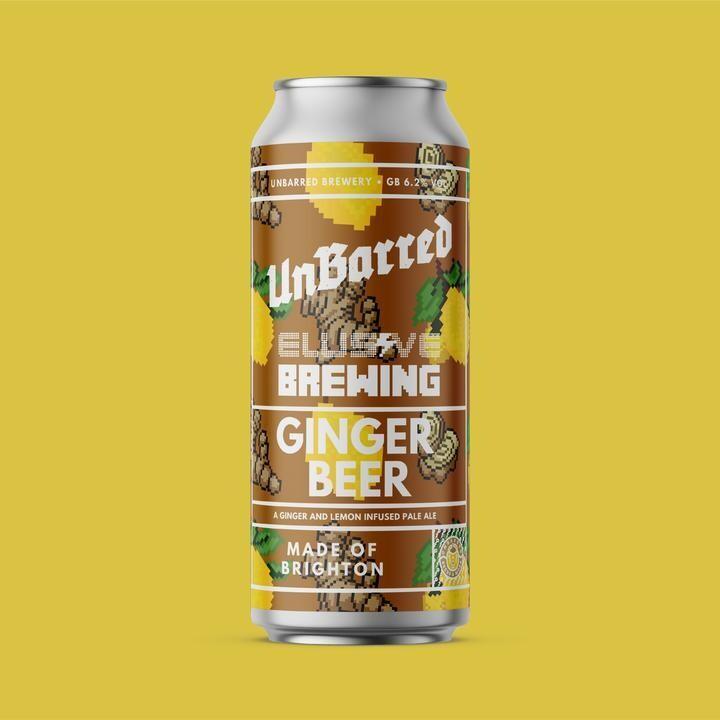 UnBarred x Elusive Ginger Beer Pale Ale