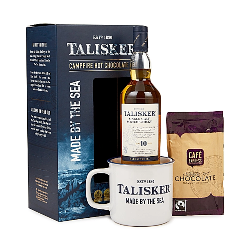 Talisker 10yr Old Whisky Campfire Hot Chocolate Kit