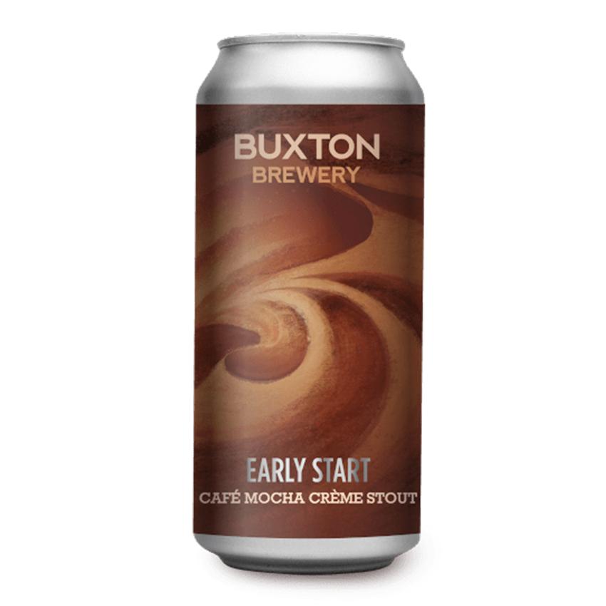Buxton Early Start Cafe Mocha Creme Stout