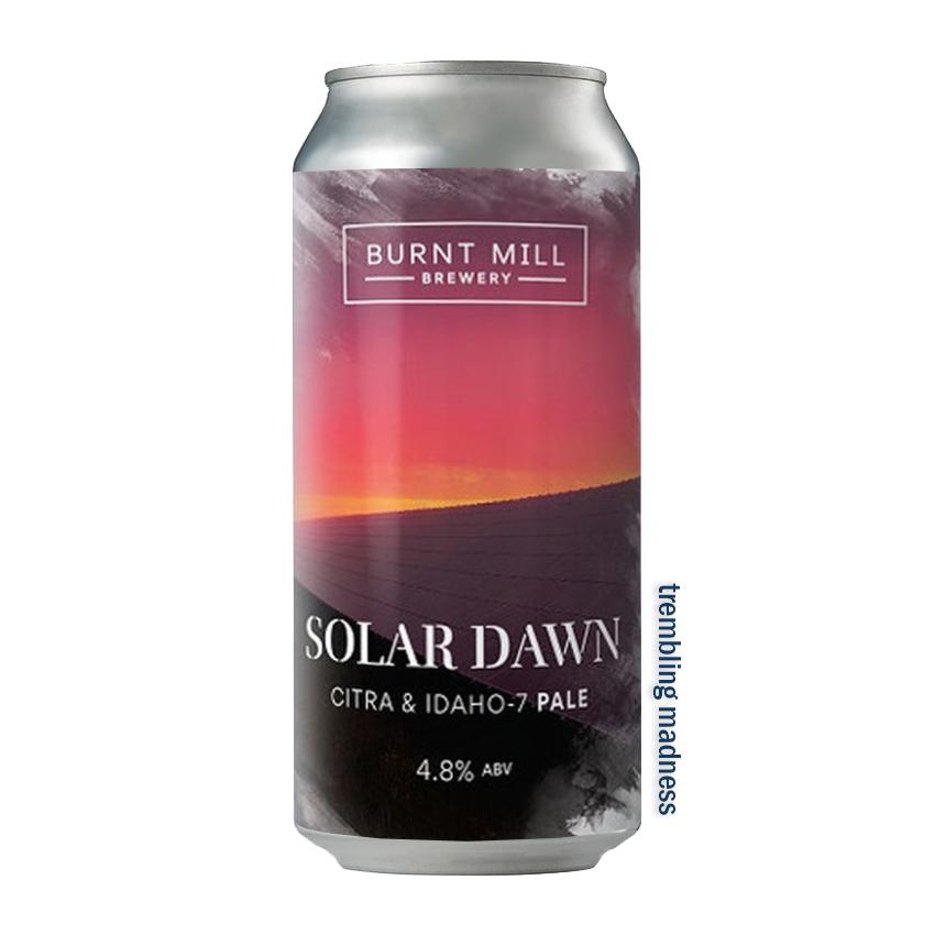Burnt Mill Solar Dawn Pale Ale