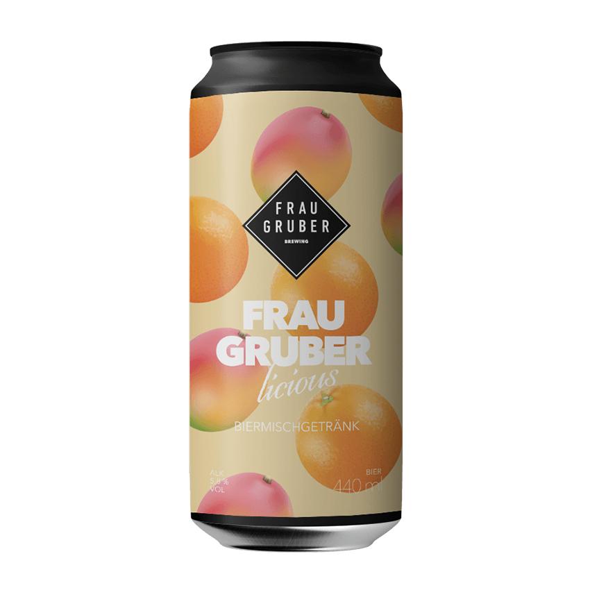 Frau Gruber Fraugruberlicious Mango & Orange Sour