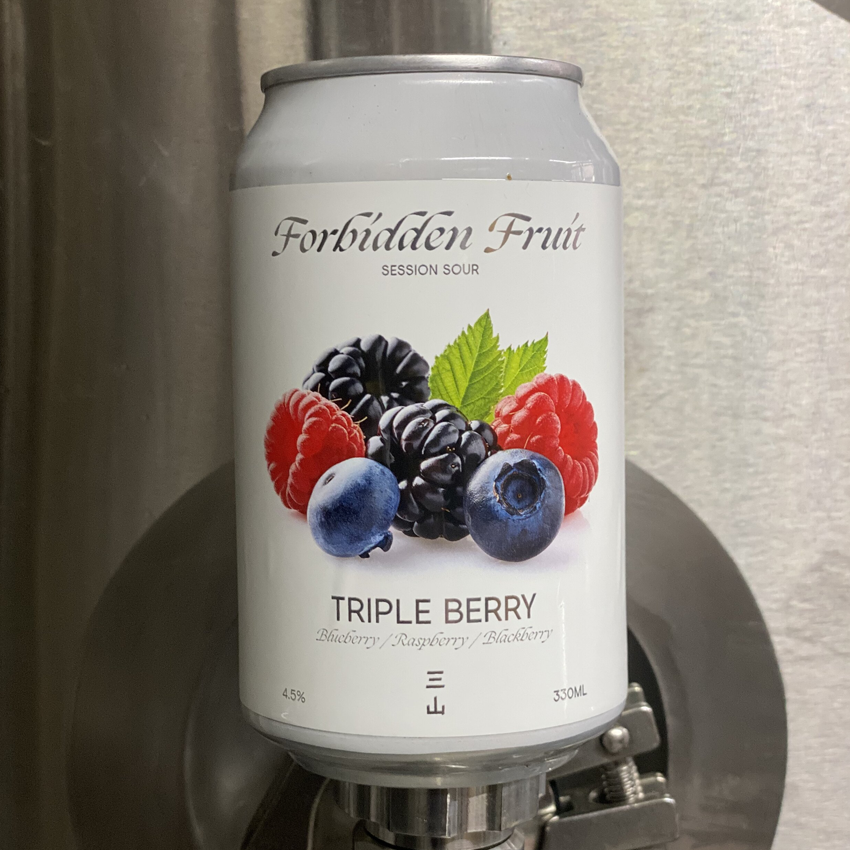Three Hills Forbidden Fruit Triple Berry Session Sour