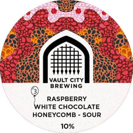 Vault City Raspberry, White Chocolate, Honeycomb Sour (1.5 or 4 Pints)
