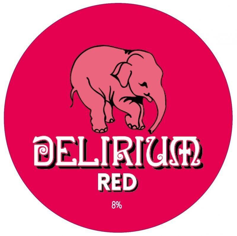 Delirium Red Cherry Beer KEG (1.5 or 4 Pints)
