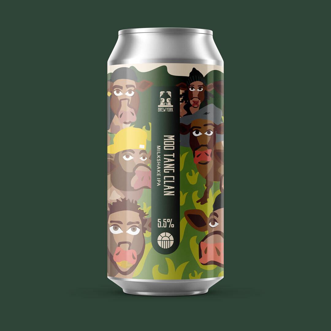 Brew York Moo Tang Clan Milkshake IPA