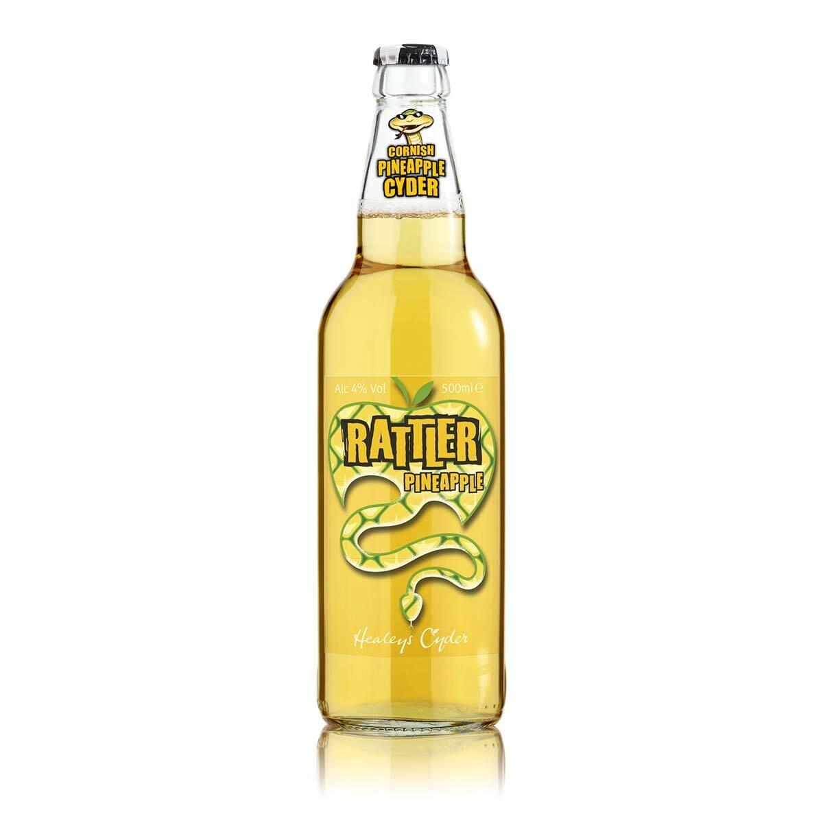 Healeys Rattler Pineapple Cornish Cider