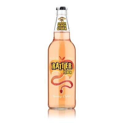 Healeys Rattler Peach Cornish Cider