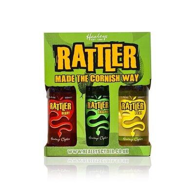 Healeys Berry, Pear & Original Rattler Cider Triple Pack