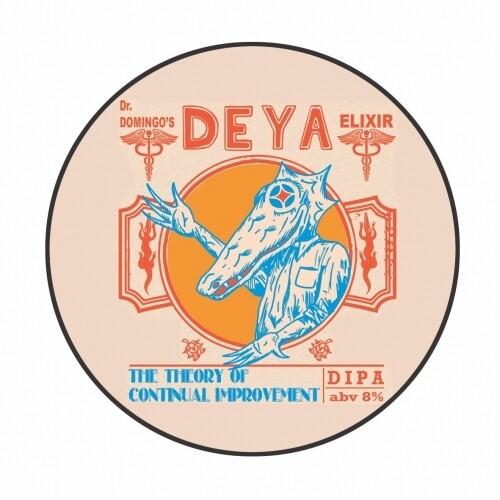 Deya The Theory of Continual Improvement DIPA KEG (1.5 or 4 Pints)