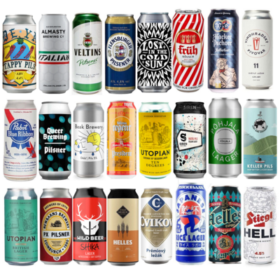 Lager 24 Can Pack